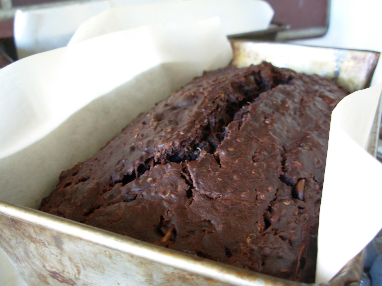Chocolate Zucchini Loaf with Quinoa recipe: