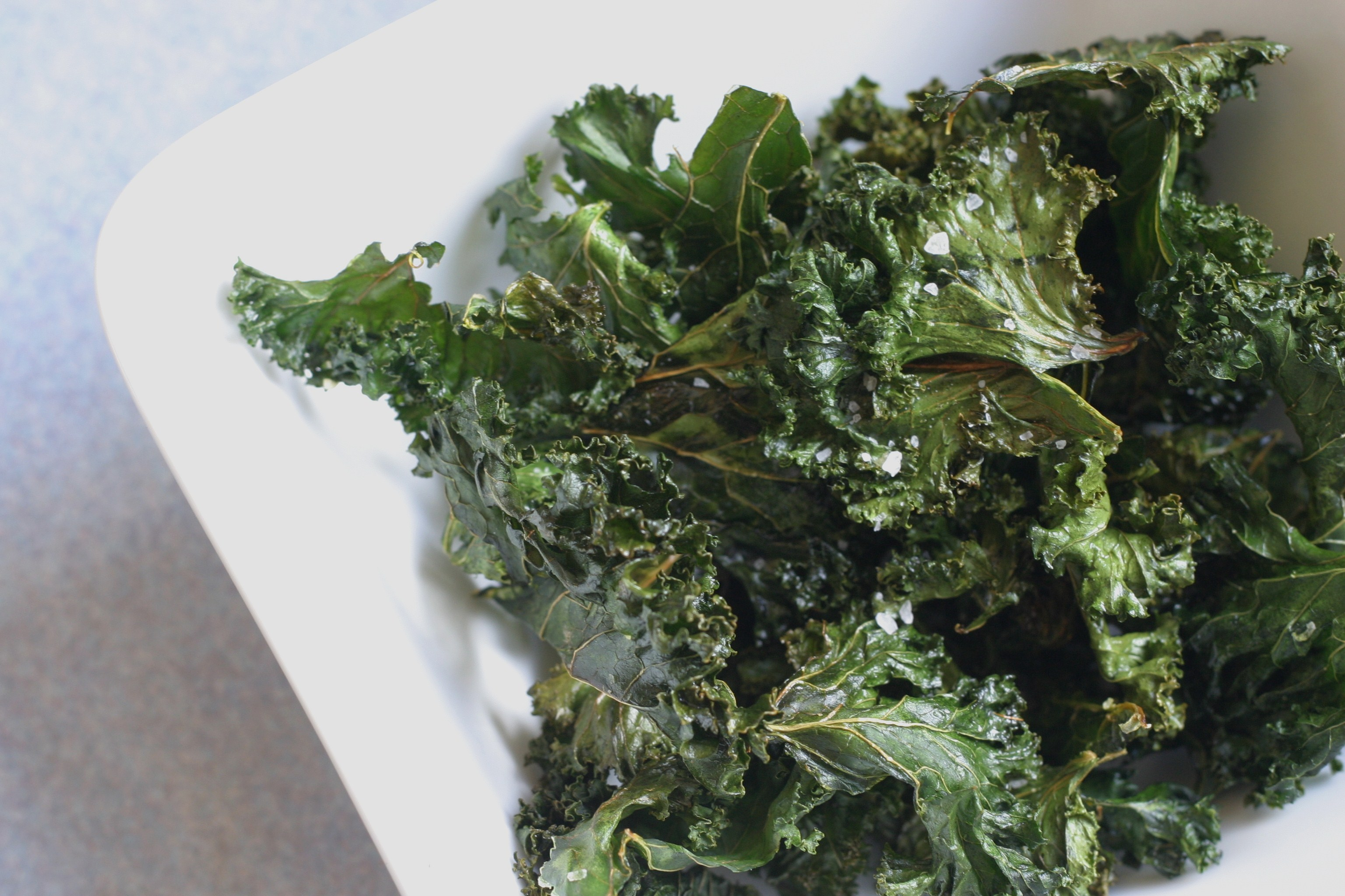 kale chips // the muffin myth