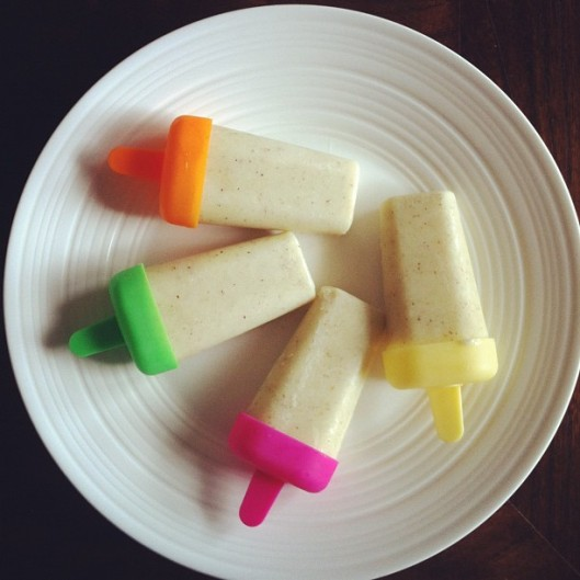 yoghurt fruit popsicles // the muffin myth