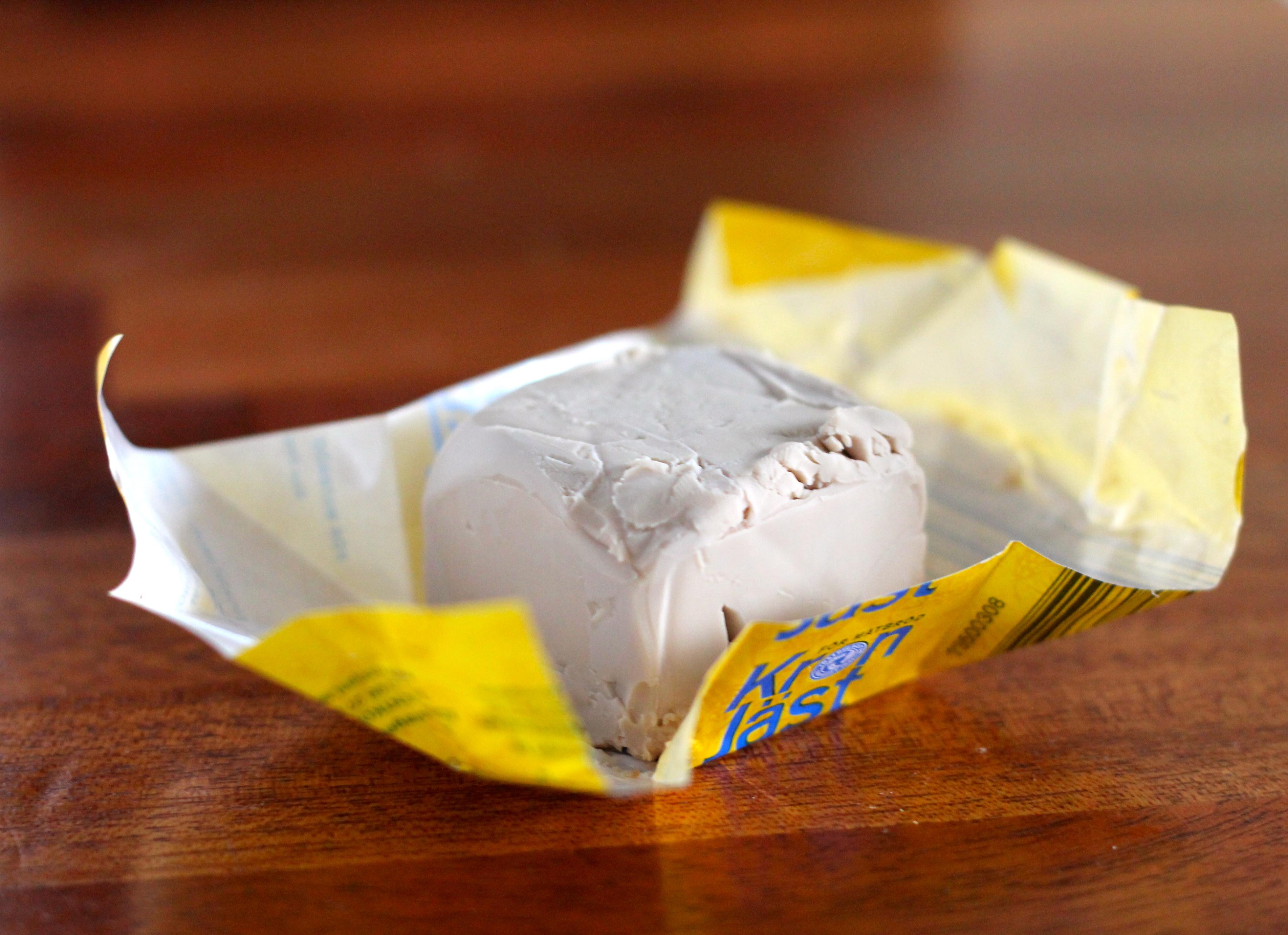 Fresh Yeast // The Muffin Myth