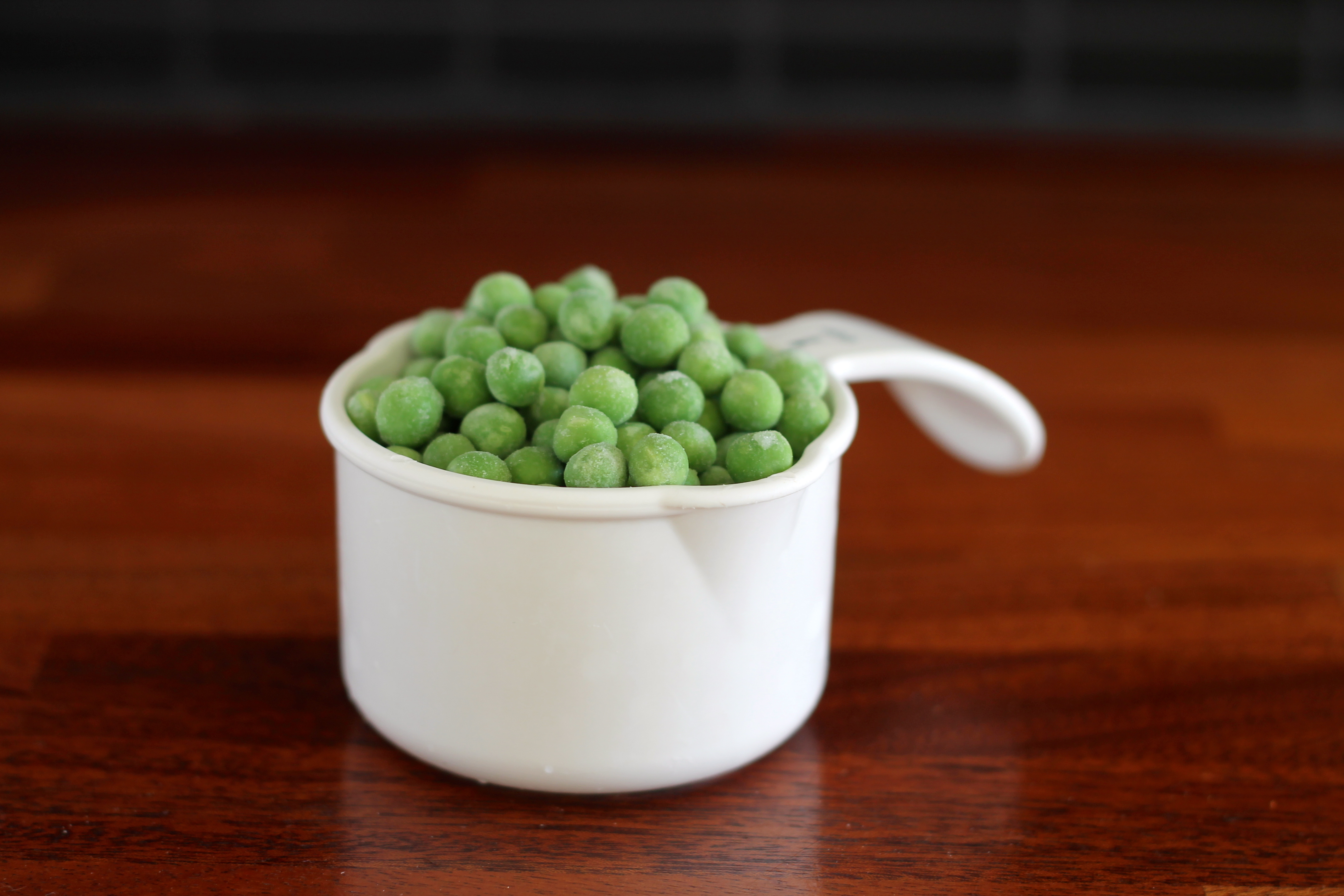 cup of peas