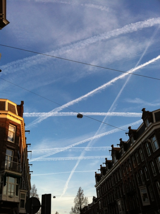 Amsterdam skies // The Muffin Myth