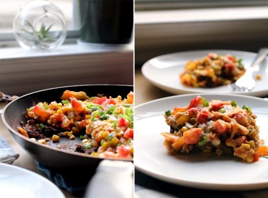 Mexican Black Bean Quinoa Skillet 3