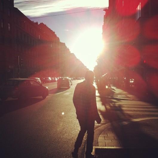 sunny street // the muffin myth