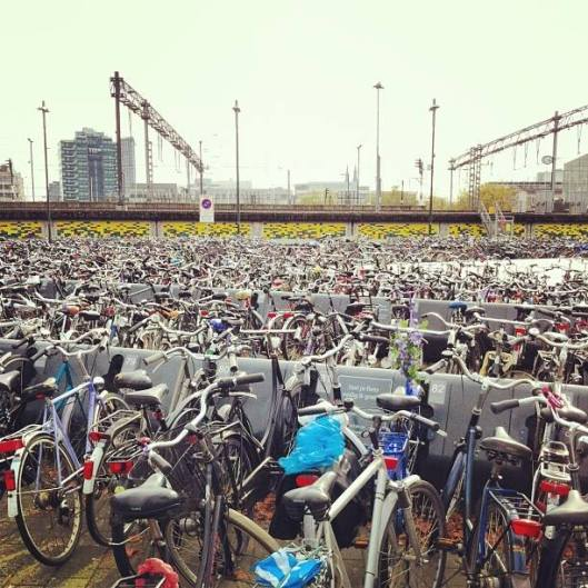 bike parking in Eindhoven