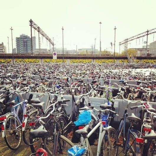 bike parking in Eindhoven
