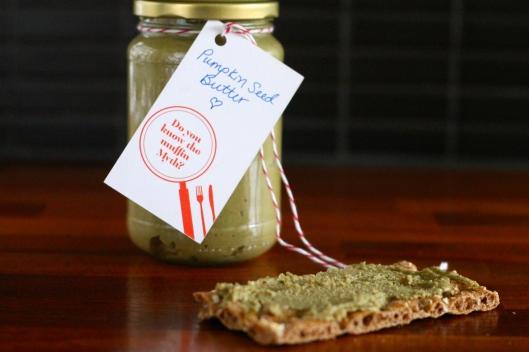 pumpkin seed butter // the muffin myth