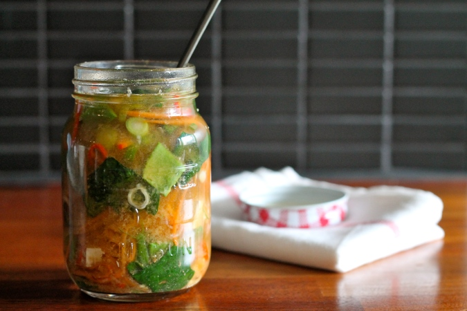 DIY jar soup // the muffin myth