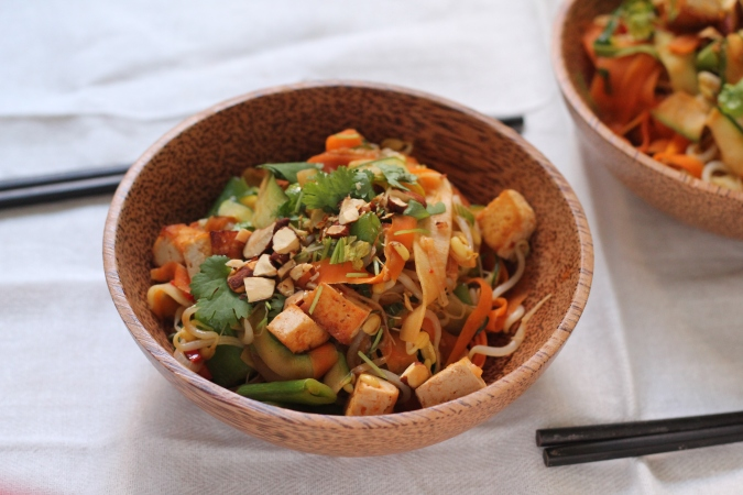 no noodle pad Thai stirfry // the muffin myth