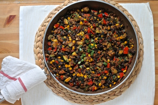 black bean and quinoa freezer burritos // the muffin myth
