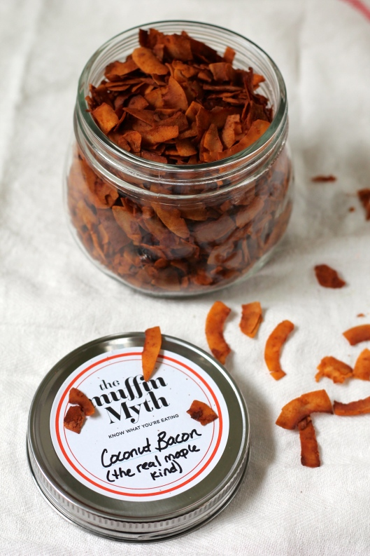 maple coconut bacon // the muffin myth