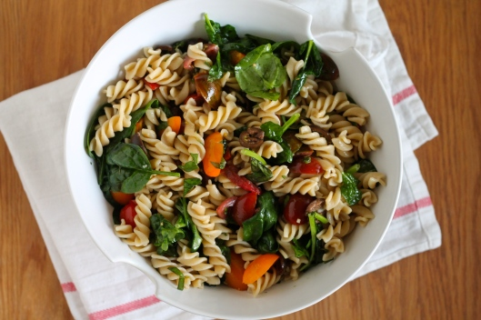 simple summer pasta // the muffin myth