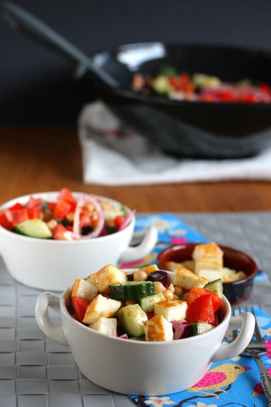 mediterranean chickpea salad // the muffin myth